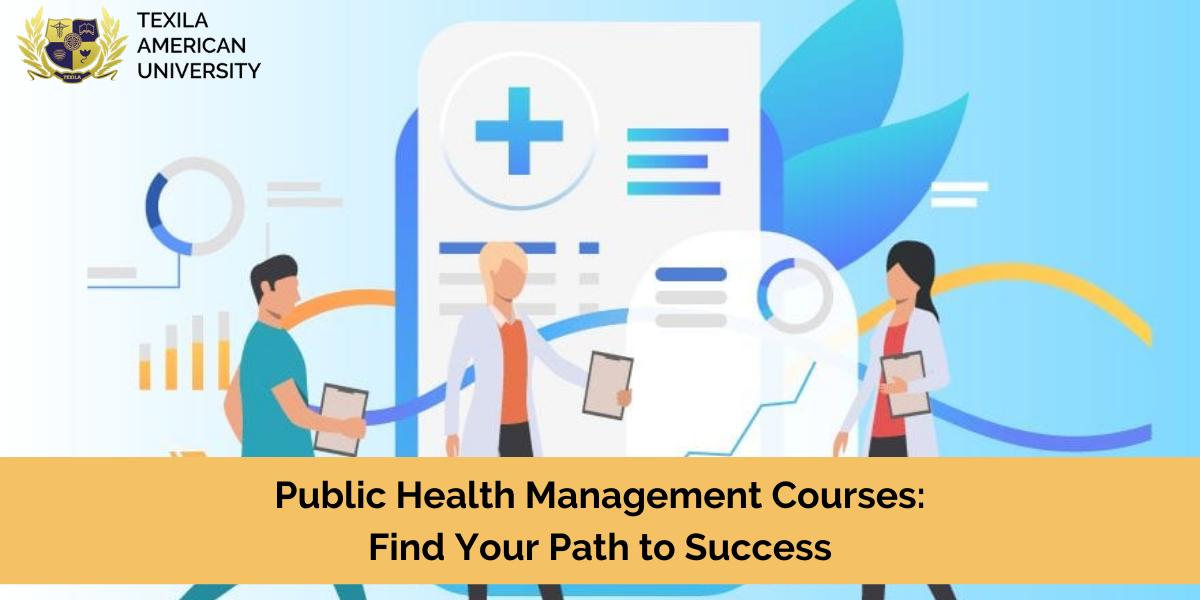 Public Health Management Course
