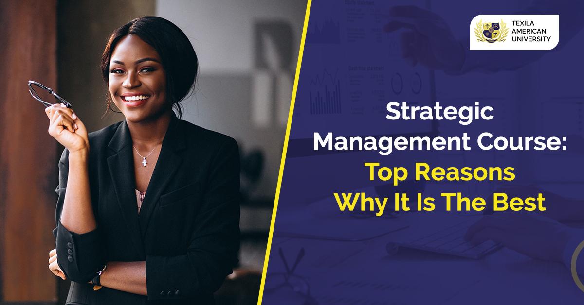 strategic management course